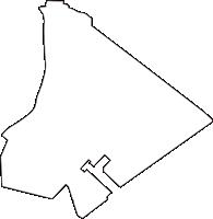 千葉県浦安市(うらやすし)の白地図無料ダウンロード