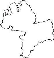 千葉県袖ケ浦市(そでがうらし)の白地図無料ダウンロード