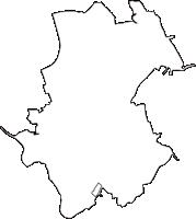 千葉県印旛郡酒々井町(しすいまち)の白地図無料ダウンロード