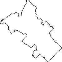 千葉県山武郡横芝光町(よこしばひかりまち)の白地図無料ダウンロード