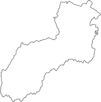 千葉県長生郡睦沢町(むつざわまち)の白地図無料ダウンロード
