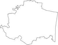 千葉県長生郡長生村(ちょうせいむら)の白地図無料ダウンロード