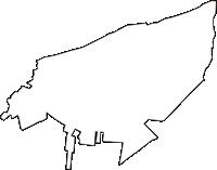 東京都東久留米市(ひがしくるめし)の白地図無料ダウンロード