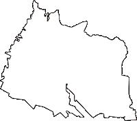 東京都武蔵村山市(むさしむらやまし)の白地図無料ダウンロード