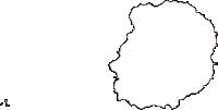 東京都三宅支庁三宅村(みやけむら)の白地図無料ダウンロード