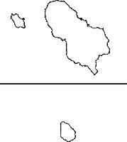 東京都八丈支庁八丈支庁(はちじょうしちょう)の白地図無料ダウンロード