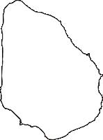 東京都八丈支庁青ヶ島村(あおがしまむら)の白地図無料ダウンロード