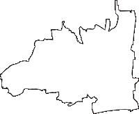 神奈川県平塚市(ひらつかし)の白地図無料ダウンロード