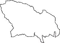 神奈川県伊勢原市(いせはらし)の白地図無料ダウンロード