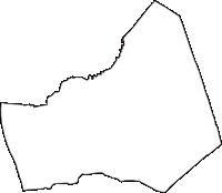 神奈川県座間市(ざまし)の白地図無料ダウンロード