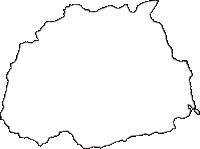 神奈川県南足柄市(みなみあしがらし)の白地図無料ダウンロード