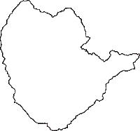 神奈川県足柄下郡箱根町(はこねまち)の白地図無料ダウンロード