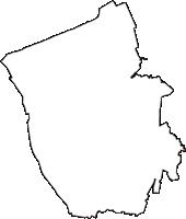 新潟県新潟市北区(きたく)の白地図無料ダウンロード