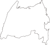 新潟県新潟市西蒲区(にしかんく)の白地図無料ダウンロード