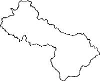 新潟県三条市(さんじょうし)の白地図無料ダウンロード