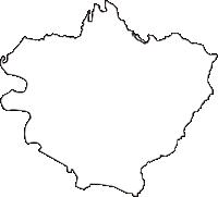新潟県阿賀野市(あがのし)の白地図無料ダウンロード