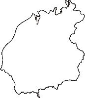 新潟県南蒲原郡田上町(たがみまち)の白地図無料ダウンロード