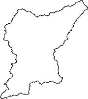新潟県東蒲原郡阿賀町(あがまち)の白地図無料ダウンロード