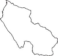 富山県魚津市(うおづし)の白地図無料ダウンロード
