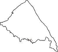 富山県滑川市(なめりかわし)の白地図無料ダウンロード