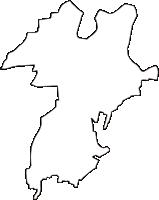 富山県中新川郡舟橋村(ふなはしむら)の白地図無料ダウンロード