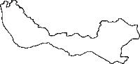 富山県中新川郡立山町(たてやままち)の白地図無料ダウンロード
