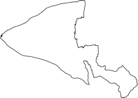 富山県下新川郡入善町(にゅうぜんまち)の白地図無料ダウンロード
