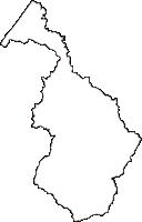 石川県白山市(はくさんし)の白地図無料ダウンロード