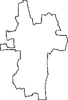 石川県野々市市(ののいちし:旧野々市町)の白地図無料ダウンロード