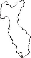 石川県羽咋郡志賀町(しかまち)の白地図無料ダウンロード