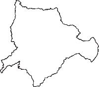 石川県鹿島郡中能登町(なかのとまち)の白地図無料ダウンロード