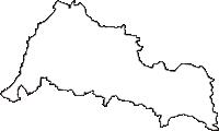 福井県福井市(ふくいし)の白地図無料ダウンロード