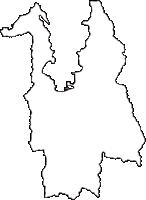 福井県敦賀市(つるがし)の白地図無料ダウンロード