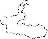 福井県大飯郡おおい町(おおいちょう)の白地図無料ダウンロード