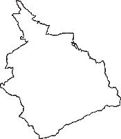 山梨県笛吹市(ふえふきし)の白地図無料ダウンロード