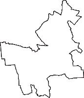 山梨県中巨摩郡昭和町(しょうわちょう)の白地図無料ダウンロード