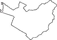 山梨県南都留郡山中湖村(やまなかこむら)の白地図無料ダウンロード