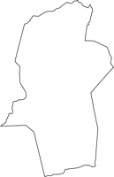 山梨県南都留郡鳴沢村(なるさわむら)の白地図無料ダウンロード