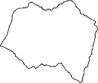 長野県下伊那郡豊丘村(とよおかむら)の白地図無料ダウンロード