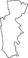 長野県北安曇郡池田町(いけだまち)の白地図無料ダウンロード