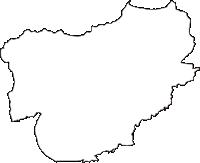長野県上水内郡信濃町(しなのまち)の白地図無料ダウンロード