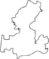 岐阜県美濃加茂市(みのかもし)の白地図無料ダウンロード
