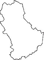 岐阜県土岐市(ときし)の白地図無料ダウンロード