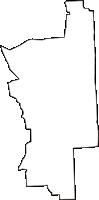 岐阜県本巣郡北方町(きたがたちょう)の白地図無料ダウンロード