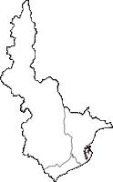 静岡県静岡市静岡市(しずおかし)の白地図無料ダウンロード