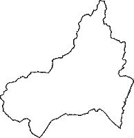 静岡県浜松市北区(きたく)の白地図無料ダウンロード