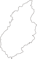 静岡県浜松市天竜区(てんりゅうく)の白地図無料ダウンロード