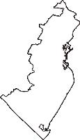 静岡県焼津市(やいづし)の白地図無料ダウンロード
