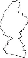 静岡県掛川市(かけがわし)の白地図無料ダウンロード