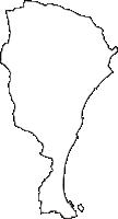 静岡県牧之原市(まきのはらし)の白地図無料ダウンロード